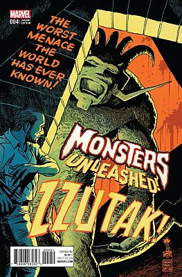 Monsters Unleashed (2016) #4 Francavilla 50's Movie Poster Variant
