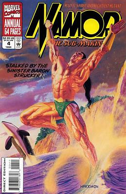 Namor, the Sub-Mariner Annual #4
