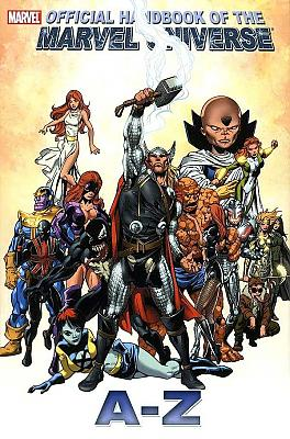 Official Handbook of the Marvel Universe A-Z #12