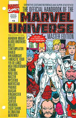 Official Handbook Of The Marvel Universe Master Edition #13