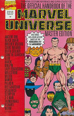 Official Handbook Of The Marvel Universe Master Edition #17