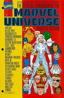 Official Handbook Of The Marvel Universe Master Edition #22