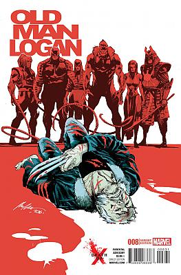Old Man Logan (2016) #08 Death Of X Variant