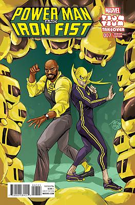 Power Man + Iron Fist (2016) #7 Tsum Tsum Variant