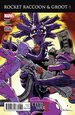 Rocket Raccoon + Groot (2016) #08