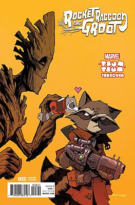 Rocket Raccoon + Groot (2016) #08 Tsum Tsum Variant