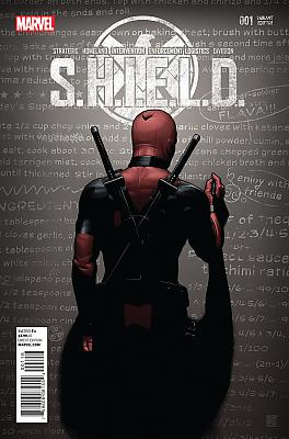 S.H.I.E.L.D. #1 Deadpool Party Variant