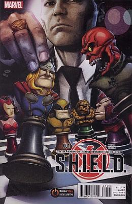 S.H.I.E.L.D. #1 Exclusive Gamestop Variant