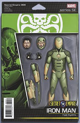 Secret Empire #9 Action Figure Variant