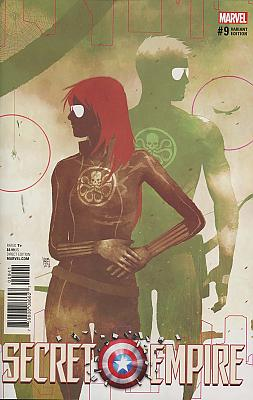 Secret Empire #9 Hydra Heroes Variant