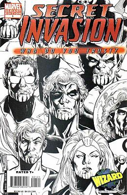 Secret Invasion: Who Do You Trust? (Wizard World Sketch Variant)