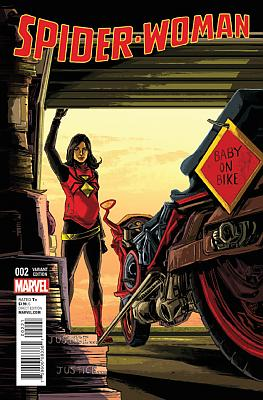 Spider-Woman (2016) #2 - Doyle Variant