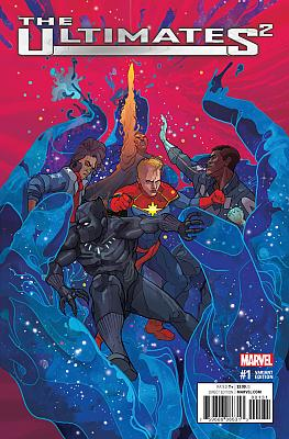 Ultimates² (2017) #1 Ward Variant