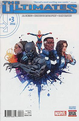 The Ultimates (2016) #3 Second Printing