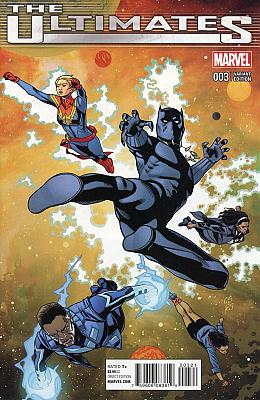 The Ultimates (2016) #3 - Sprouse Variant