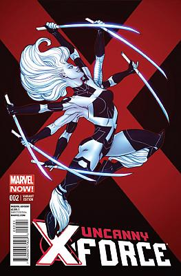 Uncanny X-Force #02 McGuinness Variant