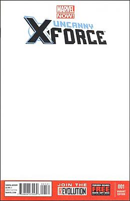 Uncanny X-Force #01 Blank Variant