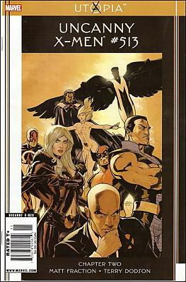 Uncanny X-Men #513 - Newsstand Version