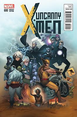 Uncanny X-Men #600 Copiel Variant