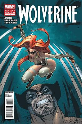 Wolverine (2010 Series) #312 - Campbell Variant