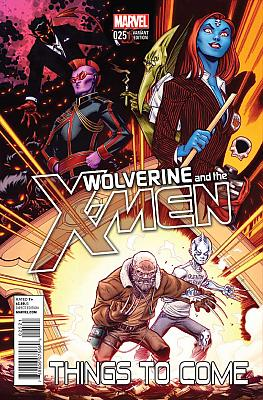 Wolverine And The X-Men #25 Variant
