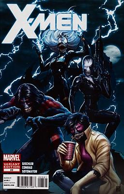 X-Men (2010) #23 - Venom Variant