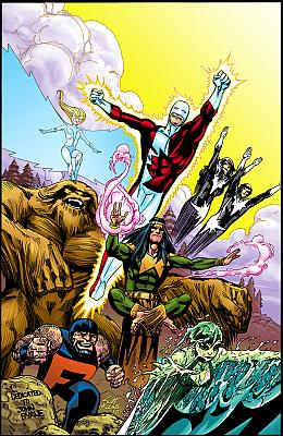 Alpha Flight by Scott Kolins by maniac mike in Alpha Flight