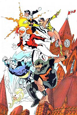 Alpha Flight by Carlos Pacheco, 1987
