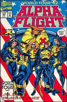 Alpha Flight v1 #107