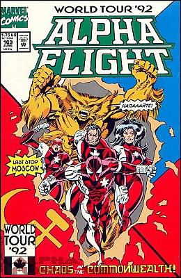 Alpha Flight v1 #109