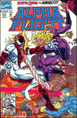 Alpha Flight v1 #111