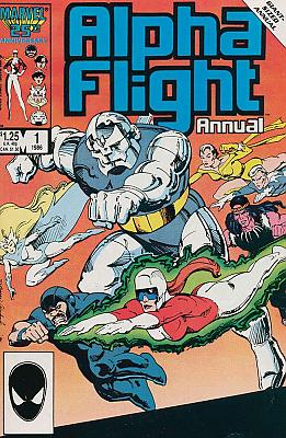 Alpha Flight Annual #1 (1986)