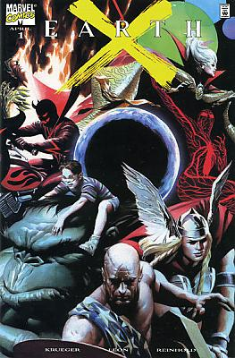 Earth X #01 - Dynamic Forces Variant