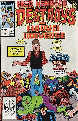 Fred Hembeck Destroys the Marvel Universe #1