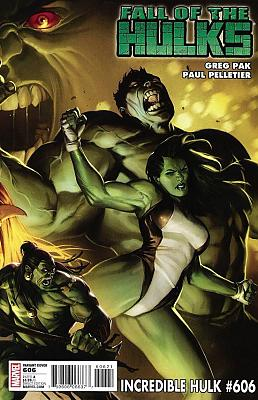 Incredible Hulk #606 Variant