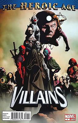 The Heroic Age: Villains #1