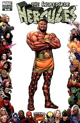 Incredible Hercules #133 - Frame Variant