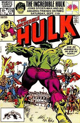 Incredible Hulk #278