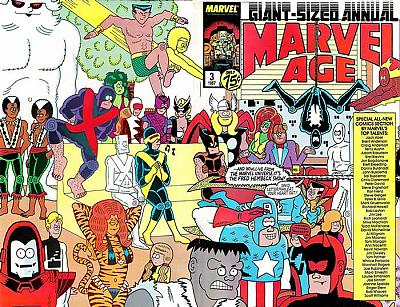 Marvel Age Annual #3 (1987)