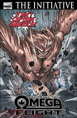 Omega Flight #1 - Second Printing
