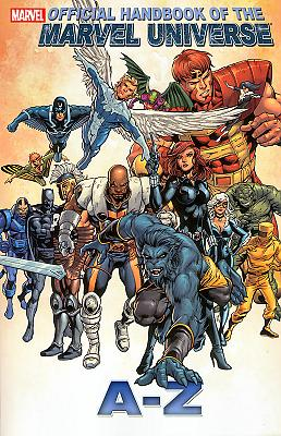 Official Handbook of the Marvel Universe A-Z #01
