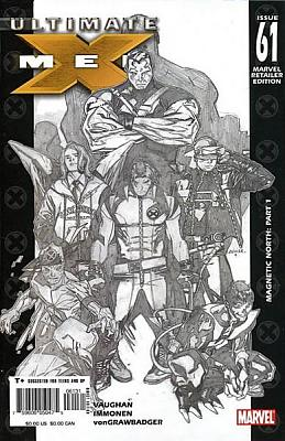Ultimate X-Men #061 - Copiel Sketch Variant