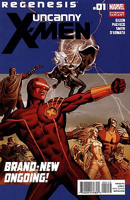 Uncanny X-Men #1 - 2nd printing variant