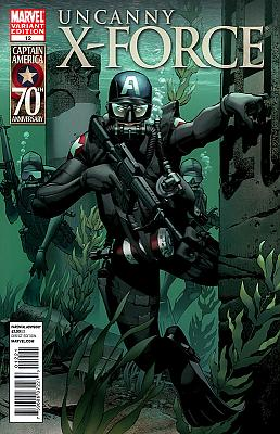 Uncanny X-Force #12 - Captain America Variant