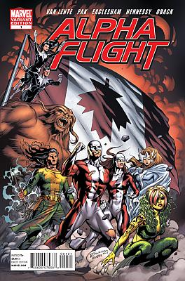 Alpha Flight v4 #1 - Variant