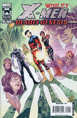 What If? X-Men Deadly Genesis #1