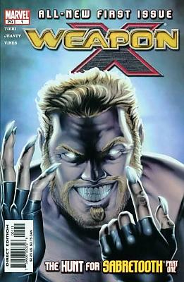 Weapon X #01