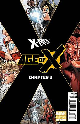 X-Men Legacy #246 - Second Printing