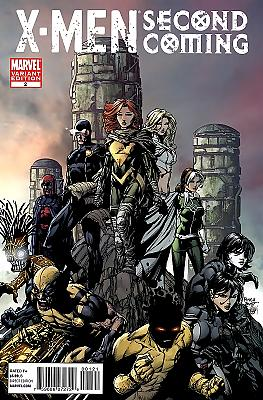 X-Men: Second Coming #2 - Finch Variant