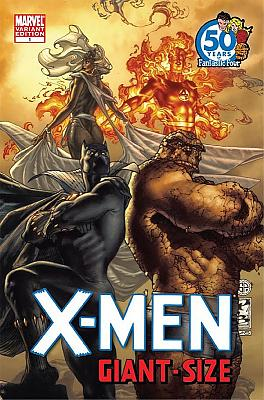 X-Men Giant Size #1 - Fantastic Four Variant